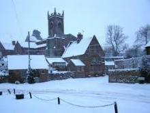 Shutford in the snow in February